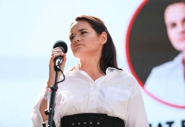 Введите санкции! — Тихановская выступила вЕвропарламенте (ВИДЕО)