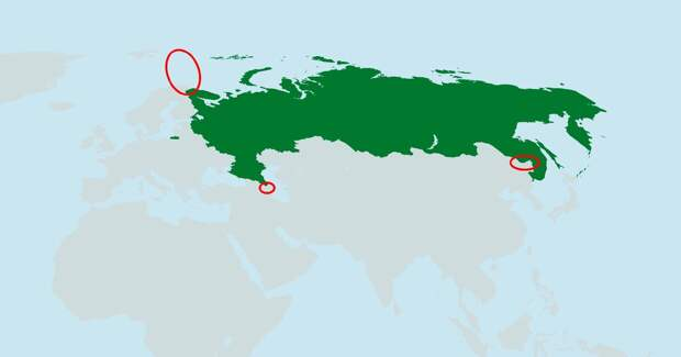 Какие территории мы отдали при Путине. А какие — приобрели