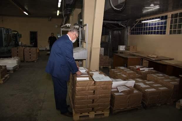 В Ижевске изготовили бюллетени для голосования по поправкам в Конституцию