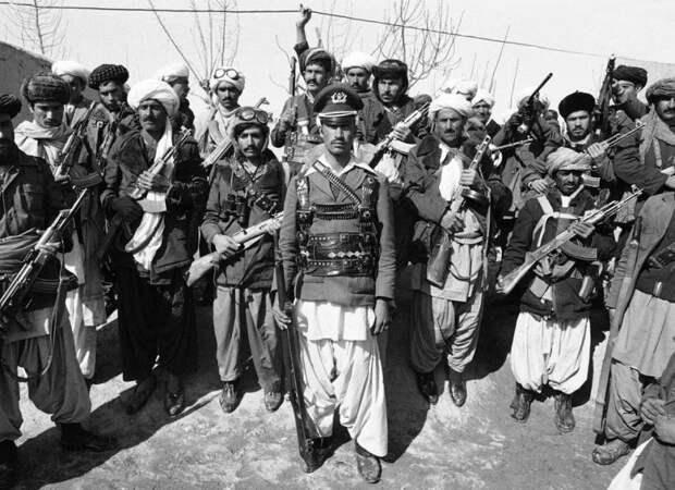Как бандеровцы афганским душманам помогали