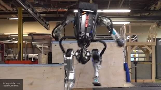 Разработчики Boston Dynamics научили человекоподобного робота новым трюкам