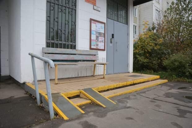 Лестница в доме на Твардовского стала безопасной — управа