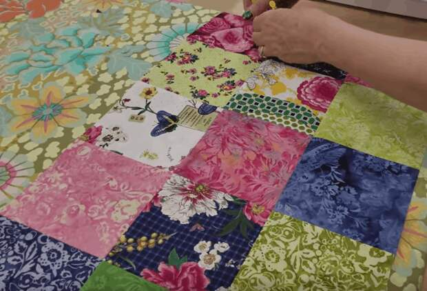 Лоскутное одеяло: просто, практично и стильно