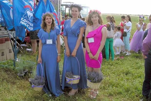 В поселке Крымская Роза состоялся «Фестиваль лаванды и розы»