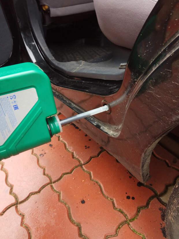 Как я защитил пороги автомобиля от коррозии за 10 минут и 500 рублей, и всем советую