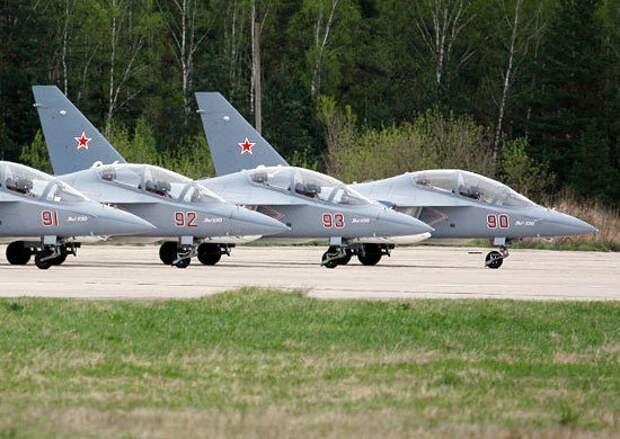 Первая партия самолетов Як-130 прибыла в Борисоглебский учебный авиационный центр