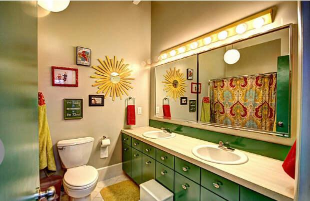 Интерьер ванны от Mindi Freng Designs