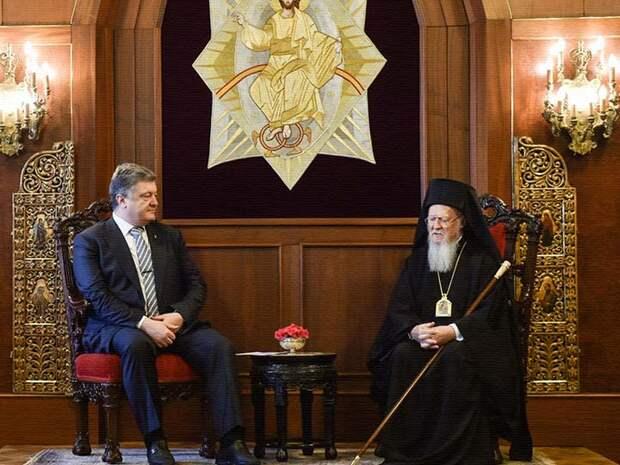 Президент Украины поблагодарил Варфоломея за предоставлени автокефалии