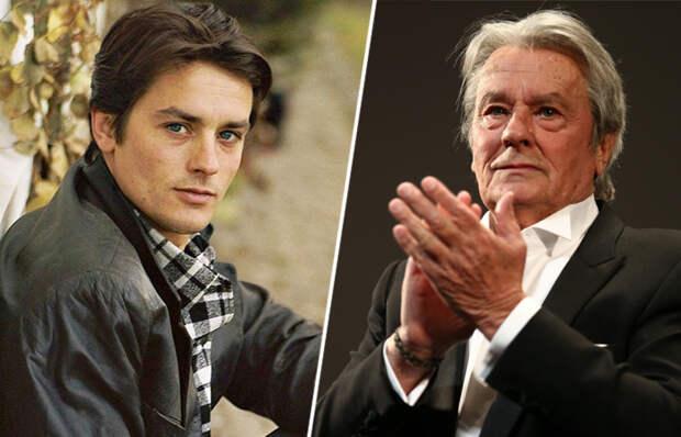 Кем стали дети легендарного французского красавца-сердцееда актёра Алена Делона