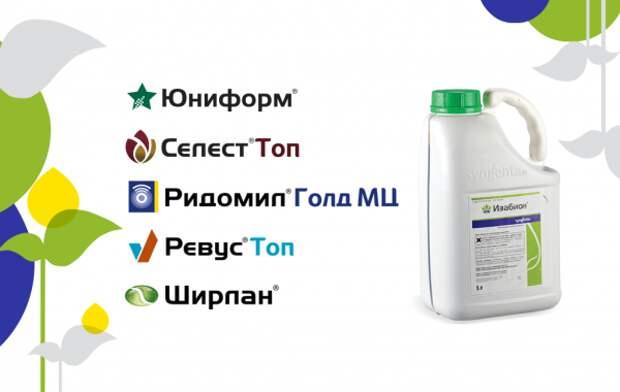 Каталог агрохимикатов Syngenta®