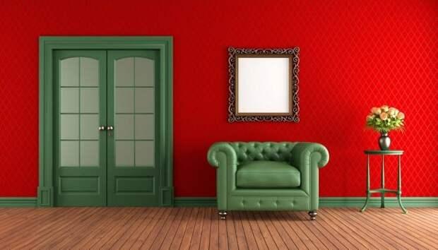 Зеленый цвет в интерьере: особенности и дизайнерские решения (63 фото)