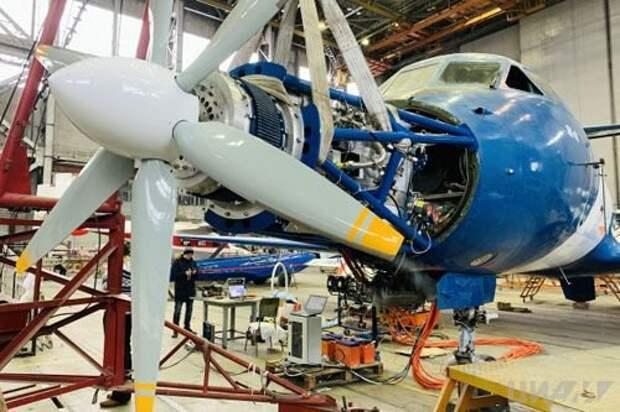 В России начаты испытания перспективной электрической силовой установки для самолетов