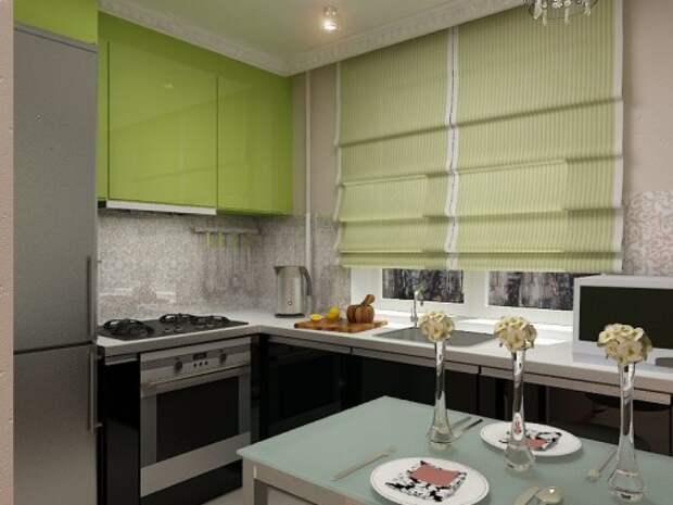 кухни 5 5 м дизайн