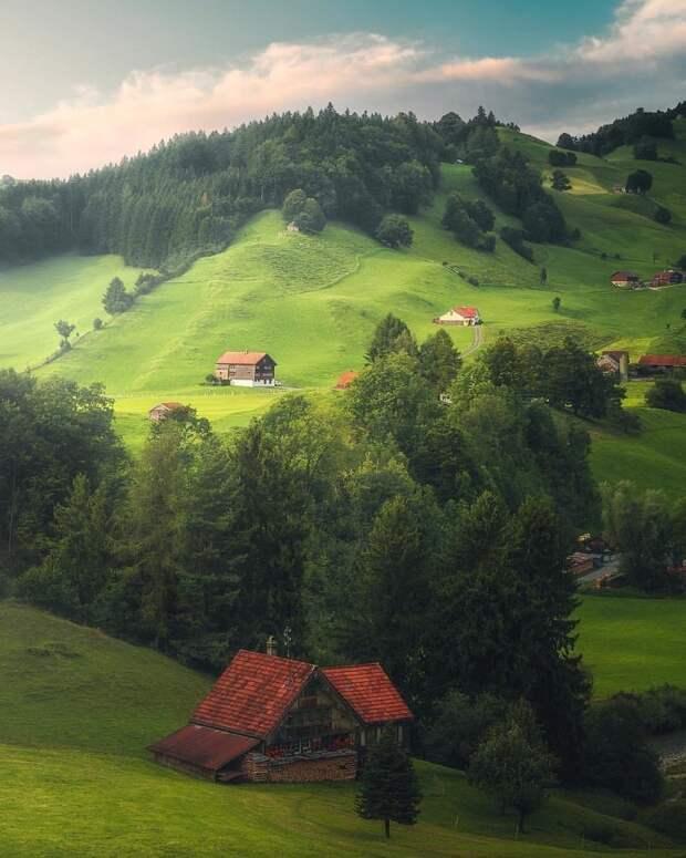 Швейцария красота, мир, природа, путешествия