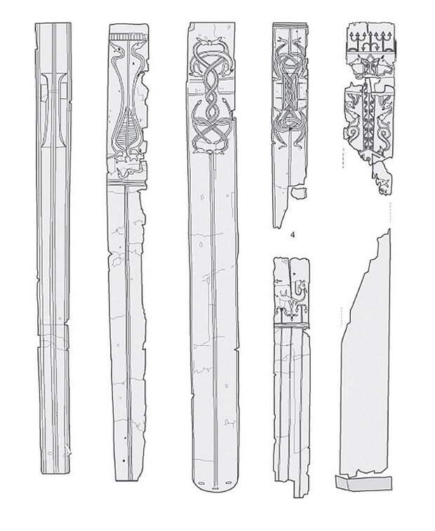 Деревянные ножны из Нидама - Экипировка античных воинов: германцы | Warspot.ru