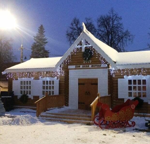 Нижегородский домик Деда Мороза передадут «моржам»