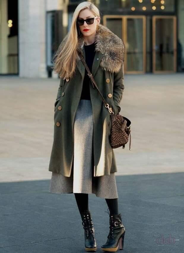 Какую юбку и с чем носить зимой, чтобы не замерзнуть и быть стильной