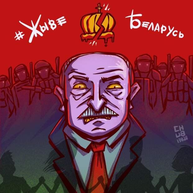 12 сильных работ художников о протестах в Беларуси