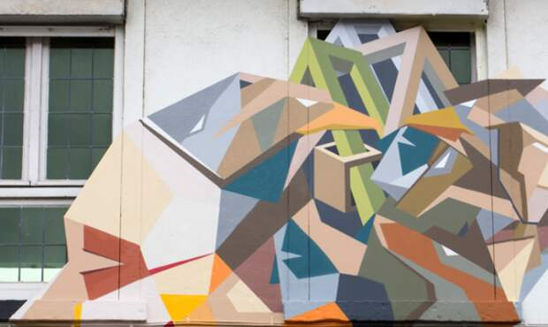граффити портреты от  Stefaan De Croock