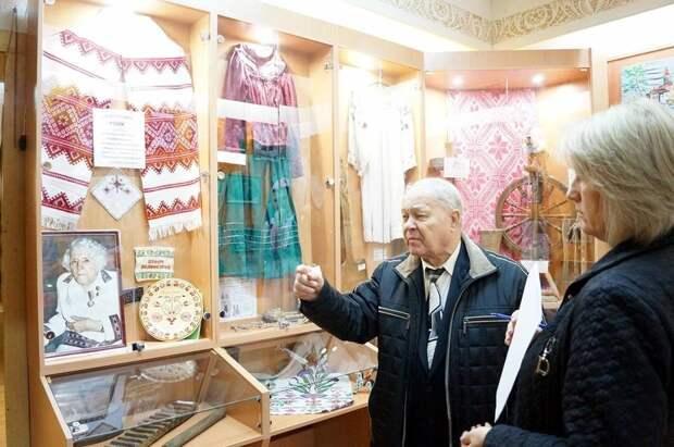 Вадим Михайлович Роик музей колхоза Россия