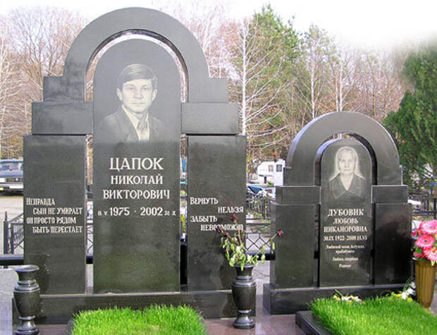 Могила Николая Цапок