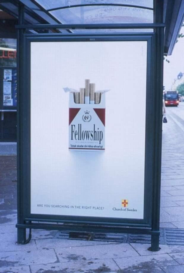 FELLOWSHIP, The Church Of Sweden, Paradiset DDB, Печатная реклама
