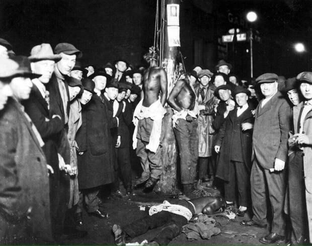 6 жутких исторических фото о том, каково жилось неграм в Америке