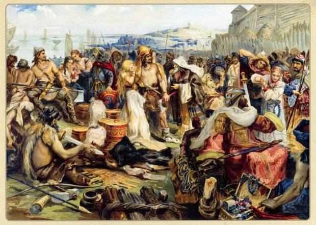 Погибшие Авары: работорговля и первый копейный удар Европы...