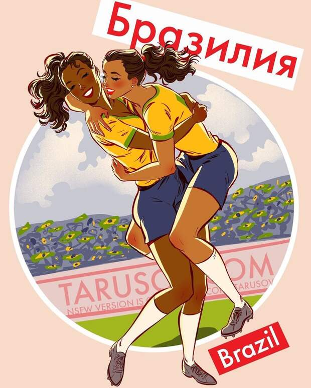 Пинап-календарь с горячими футболистками