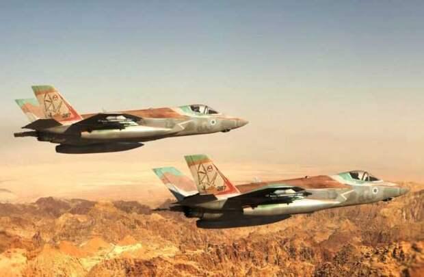 Израильские истребители F-35 нарушили воздушные границы Ирана