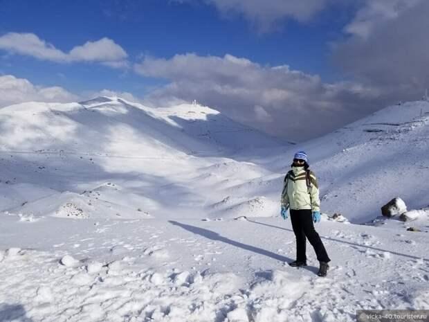 Снега и пески Израиля
