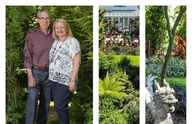 Чудо-садоводы 28 лет растили волшебный сад Вулверхемптон, великобритания, волшебный сад, достопримечательность, сад во дворе, садоводство, удивительно, я садовником родился