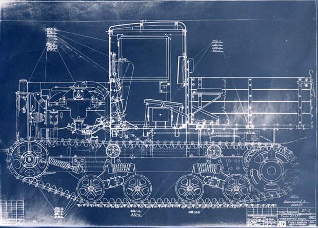 АТЗ-3Т, артиллерийский тягач на базе ХТЗ-16 - Импровизация в промышленных масштабах | Военно-исторический портал Warspot.ru