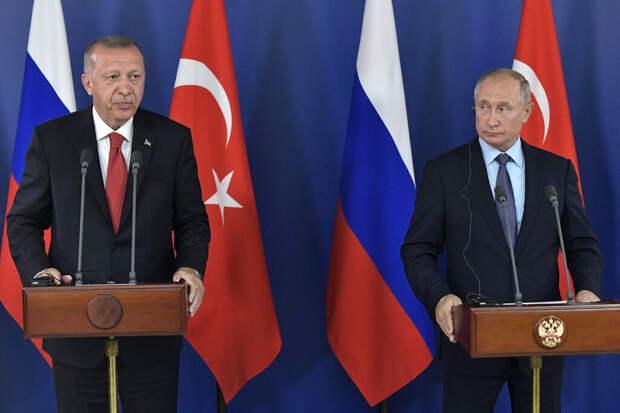 Путина предупредили о возможном предательстве Эрдогана