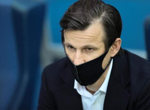 Сергей СЕМАК: Караваев просто не успел убрать ногу. Играли бы наши опорники ближе, этого момента можно было избежать