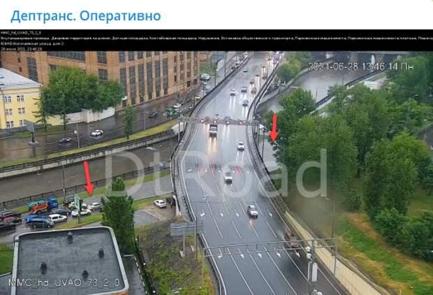 Восстановлено движение на Красноказарменной набережной и под Лефортовским мостом
