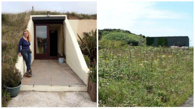 Женщина приобрела бункер времен Второй мировой войны и сделала из него уютный дом