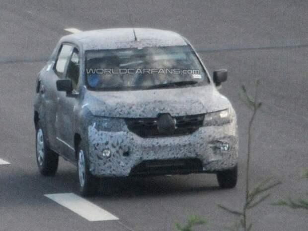 Шпионы засняли Renault-версию кроссовера Lada XRAY Cross