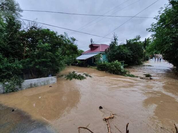 В селе Куйбышево Бахчисарайского района затопило более 50 частных домов