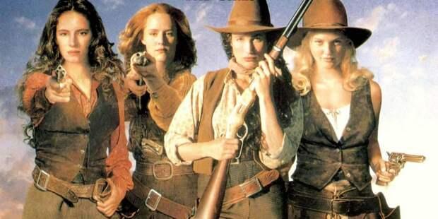 Прекрасные и опасные кинодивы на Диком Западе.