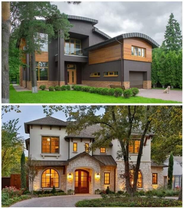 Современный загородный дом, утопающий в зелени станет идеальным жилищем для весов.   Фото: roomble.com.