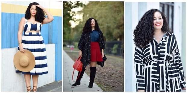 Девушки plus size, вдохновляющие красиво одеваться