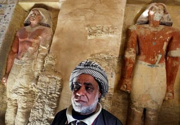 В ходе дальнейших раскопок археологи надеются обнаружить саркофаг с телом самого жреца 4400 лет, Египт, в мире, гробница, наука, находка