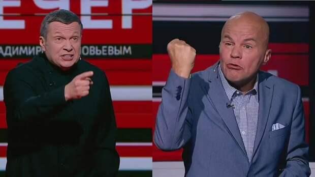 Соловьев прокомментировал появление Ковтуна на российском тв и его гонорарах