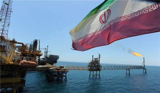 Farzad-B Иран газ