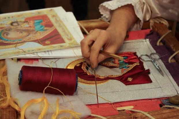 Золотошвейное дело в городе Торжок