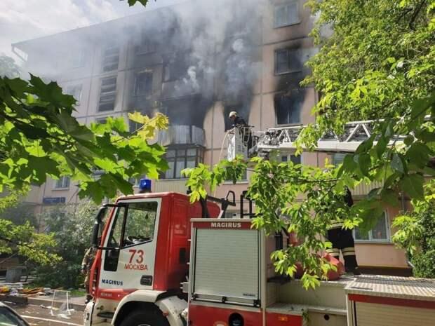 3 главных факта про пожар и взрыв в Москве на улице Проходчиков