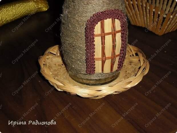 Красивый домик из бутылки Ирины Родионовой