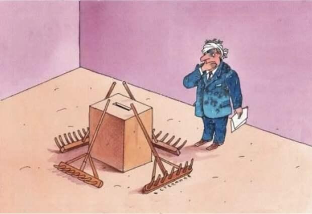 Предвыборная Украина: ложь кандидатов и провокации спецслужб