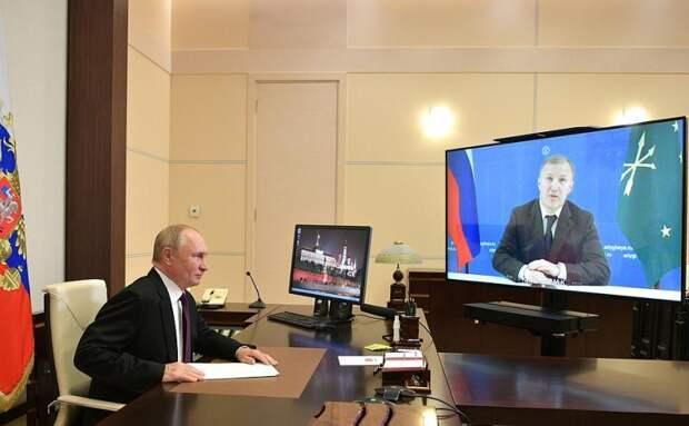 Владимир Путин даст поручение проработать вопрос с финансированием строительства тубдиспансера и увеличения мощности очистных сооружений в Майкопе